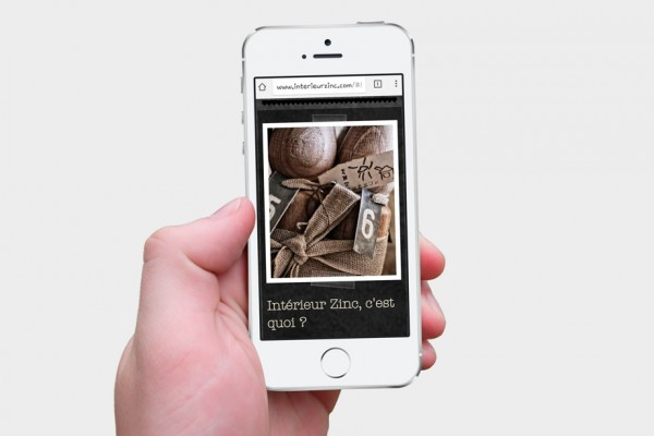B 39 com site internet int rieur zinc for Interieur zinc