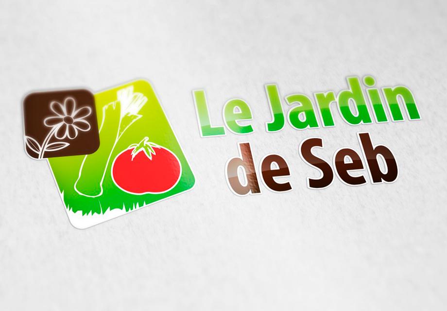B'com Logo Le Jardin de Seb