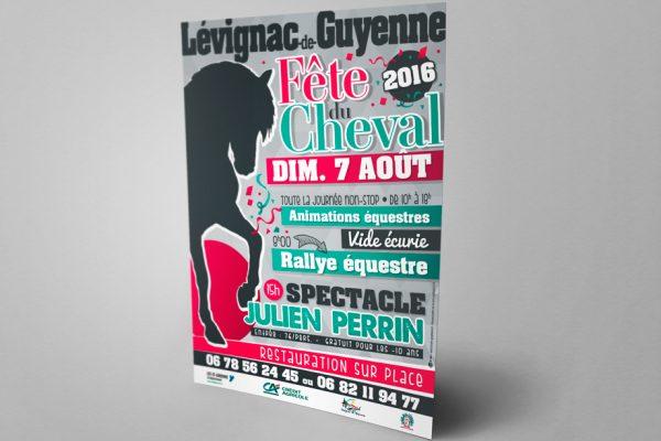 B'com Affiche Lévignac de Guyenne