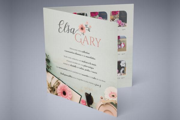 B'com Dépliant Elsa Gary